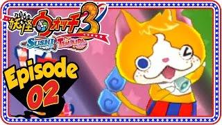 Yo-Kai Watch 3 Sushi & Tempura - Episode 2 / Part 2, Abdallah guide...