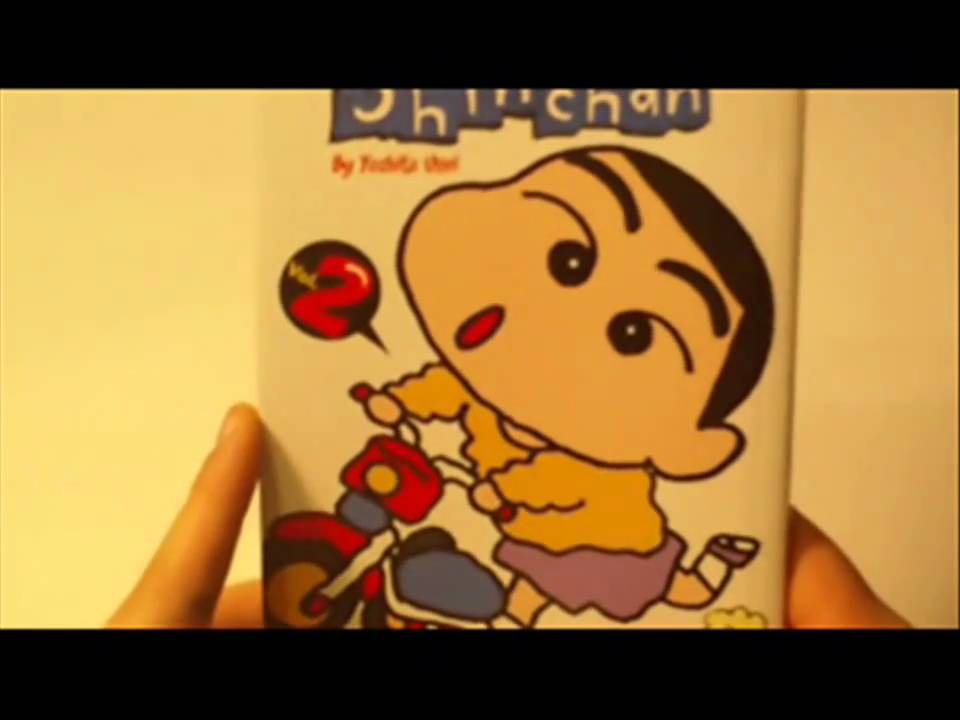 crayon shin chan comic book