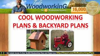 Cool Woodworking Plans - Backyard Plans