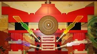 Hotel LEGOLAND Billund: LEGO Ninjago Room 2016!