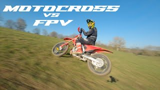 MOTOCROSS VS FPV - CINEMATIC FPV