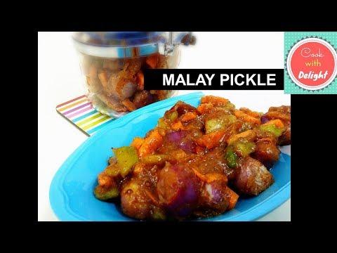 Easy Malay Achcharu (Sri Lanka's Favourite Malay Pickle)  - Recipe #5