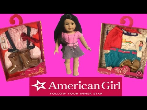 AMERICAN GIRL [ Shopping ] Our Generation Clothes