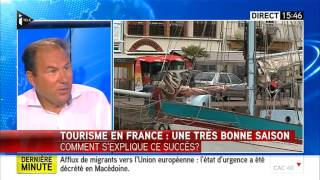 La très bonne saison du tourisme en France