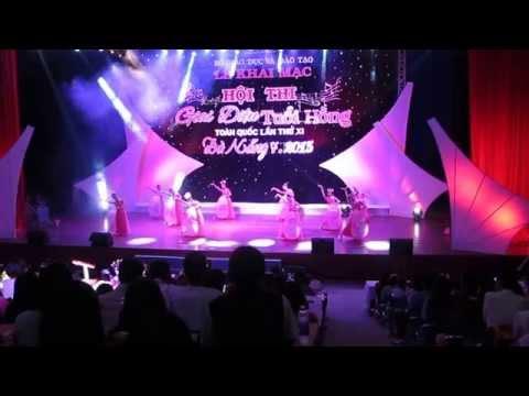 """Tiết mục Múa """"Búp sen hồng""""- Đơn vị: Sở GD&ĐT tỉnh Bắc Ninh"""