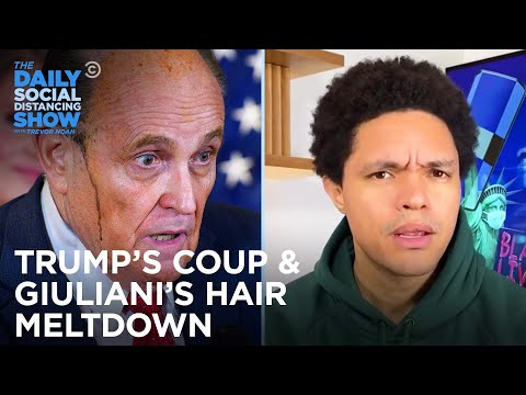 Trump Bullies Election Officials & Giuliani's Hair Has a Meltdown | The Daily Social Distancing Show