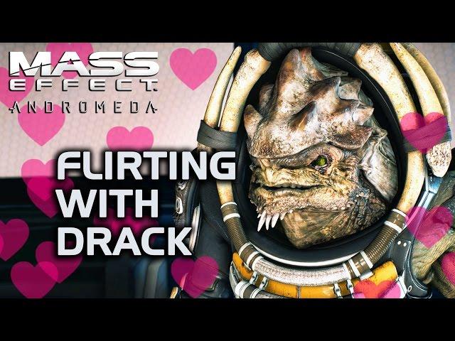 Mass Effect Andromeda - Flirting with Drack. No, really.