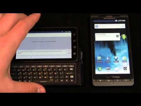 Motorola DROID 3 vs. Motorola DROID X2 Dogfight Part 2