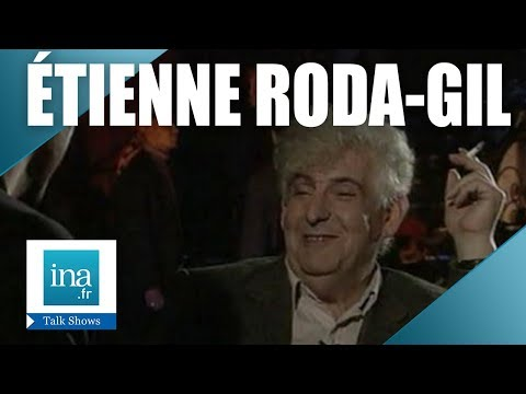 Qui était Etienne Roda-Gil ? | Archive INA