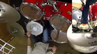 RCサクセションの雨上がりの夜空に ドラムデモ演奏です。 (発表会アレ...