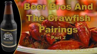 Abita Turbodog Review - Beer Bros And The Crawfish Pairings Part 2