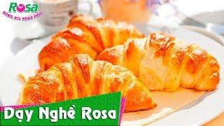 Cách làm bánh Croissant giòn giòn thơm thơm