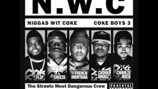 French Montana - Burnin (Feat. Akon, Chinx Drugz & Kevin Gates) (Coke Boys 3)