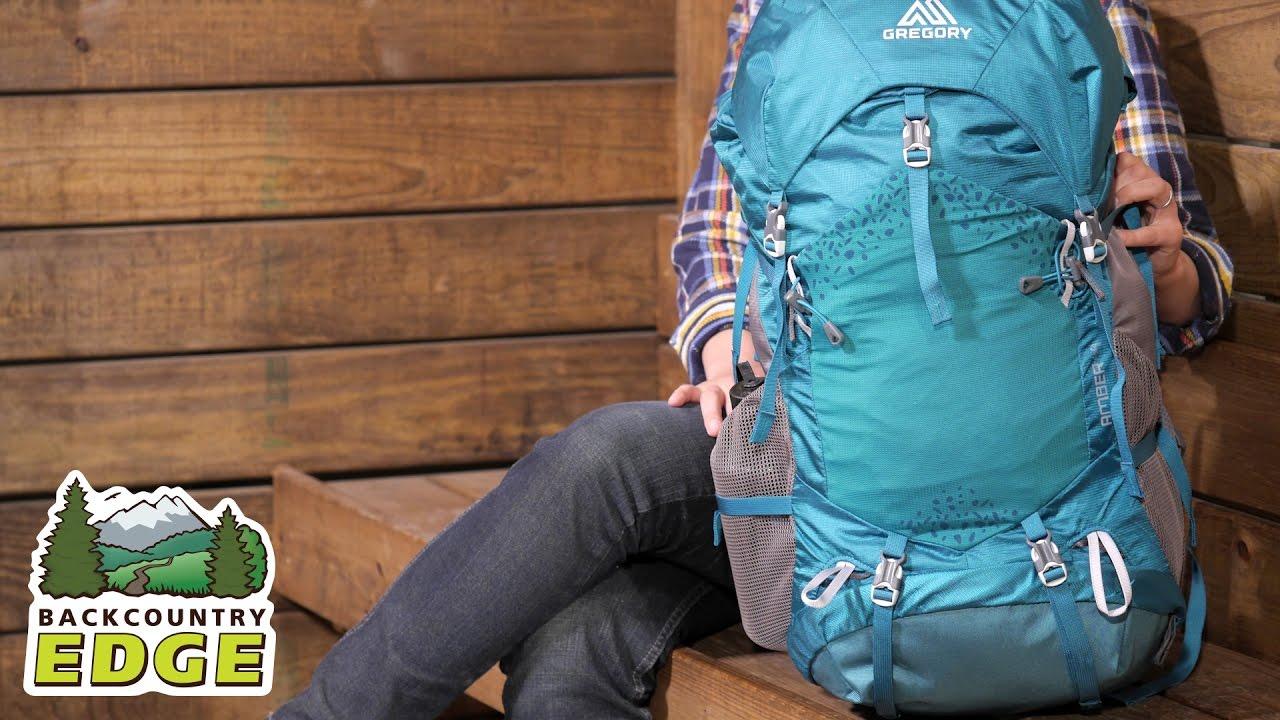 gregory amber 44 women s internal frame backpack youtube