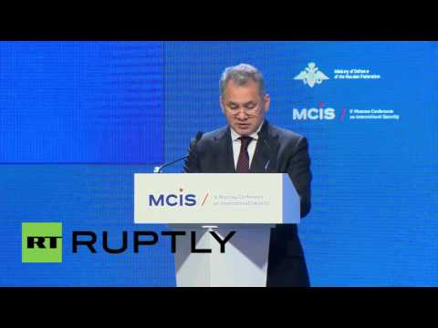 "Russia: ""Lack of trust"" preventing new architecture for arms control - Shoigu"