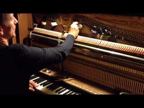 Hauschka Prepares the Piano, by Hilary Hahn
