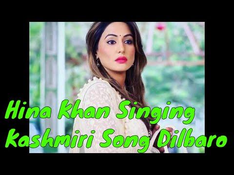 Hina Khan Singing Kashmiri Song Khanmaej Koor | Dilbaro | Raazi