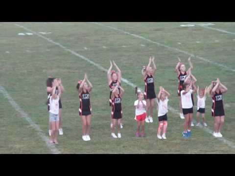 LaFollette Middle School Cheer 2016 from TheVolunteerTimes.com