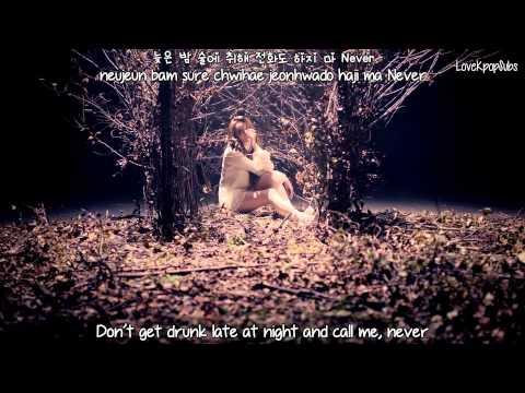 Song Ji Eun - False Hope MV [English subs + Romanization + Hangul] HD