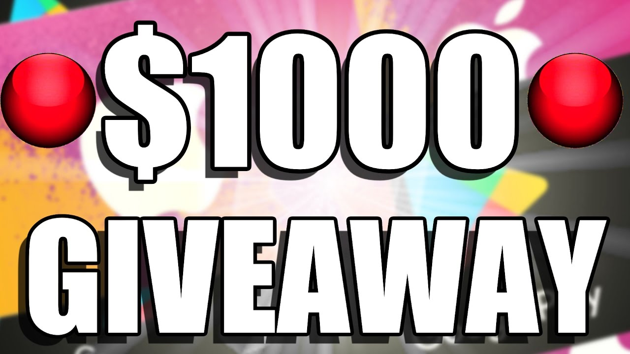 LIVE 🔴 $1000 APP STORE & GOOGLE PLAY GIVEAWAY 🔴 FREE GIFT CARDS EVERY DAY  (BE QUICK)