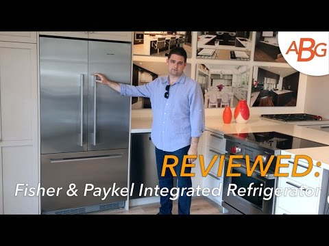 """Fisher Paykel Integrated Refrigerator Review - 36"""" French Door, NEW FOR 2017"""