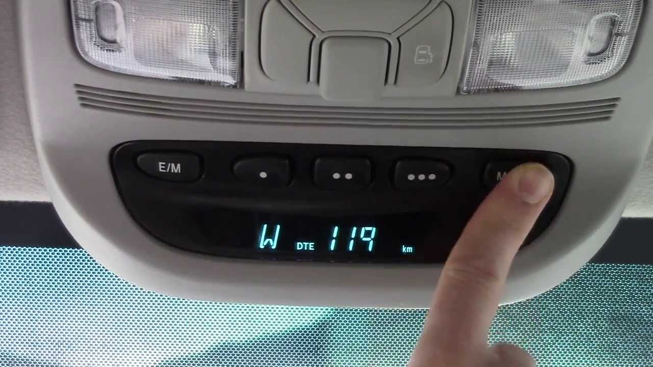 How To Program The Garage Door Opener In Your Car Homelink