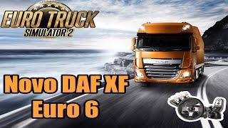 Euro Truck 2 - Novo DAF e Eixo elevável! Versão 1.14 ! Logitech G27