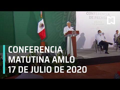 Conferencia matutina AMLO / 17 de julio de 2020