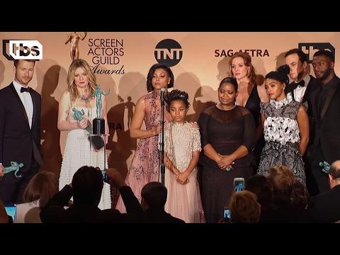 Hidden Figures: Press Room Q&A | 23rd Annual SAG Awards | TBS