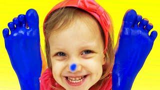 Canción de color   Canción Infantil   Canciones Infantiles con Alex y Nastya