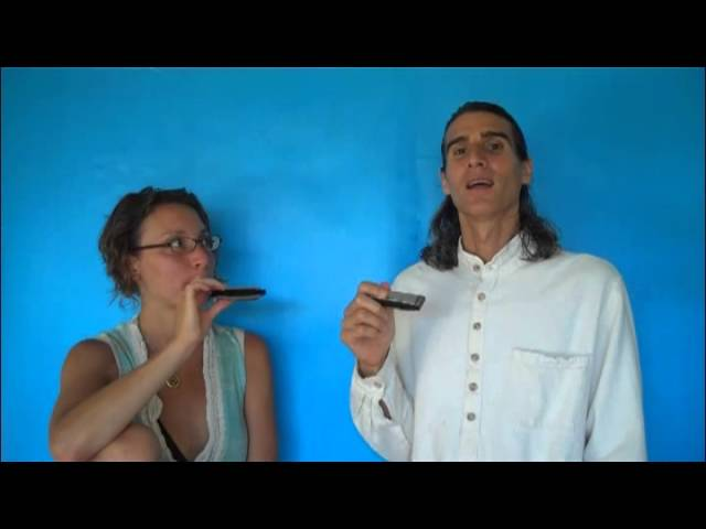 Simple Trick for Harmonica Mouth Position