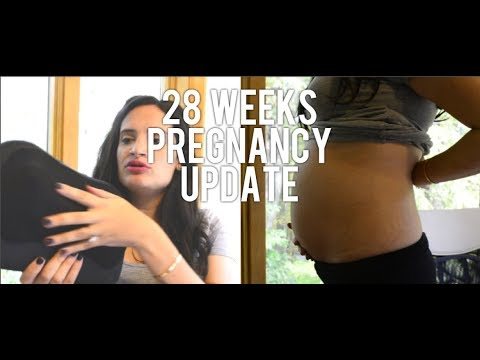 28 WEEKS PREGNANT UPDATE - FIRST PREGNANCY - 7 MONTHS PREGNANT