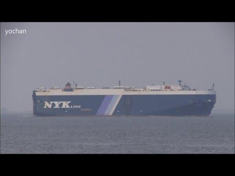Car Carrier / Ro-ro ship: HOJIN (NYK Line) Flag: Vanuatu [VU], IMO: 8916267, MMSI: 576151000
