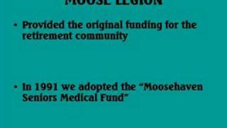 MOOSE LEGION ORIENTATION