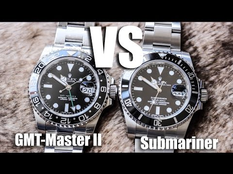 Rolex Submariner Vs Rolex GMT-Master II
