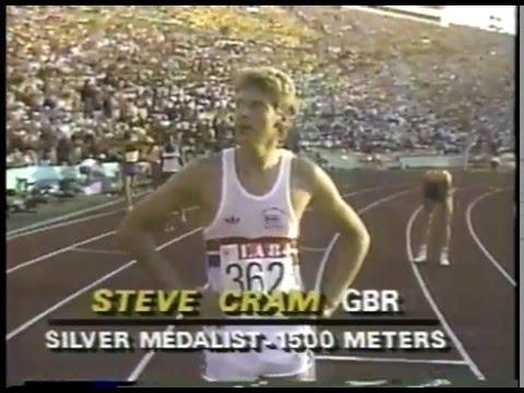 Olympics - 1984 Los Angeles - Track - Mens 1500m Finals - Gold GBR Sebastian Coe  imasportsphile