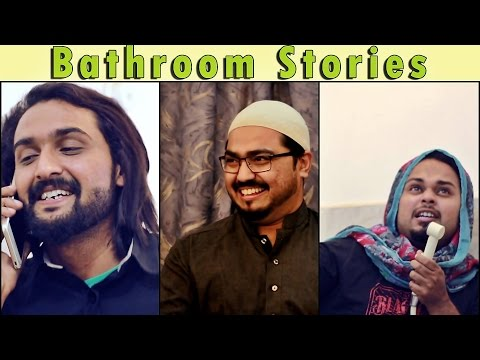 Bathroom Stories | The Idiotz Ft KhujLee Family | Super Funny