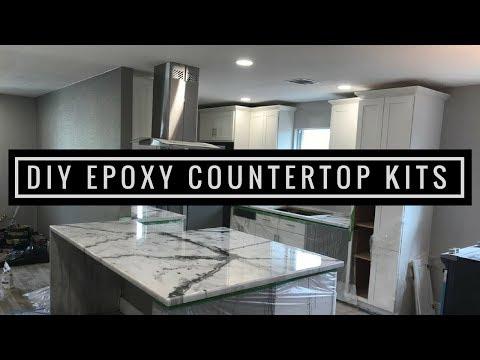 Metallic Epoxy DIY Customer Install 2   Countertop Resurfacing Kits