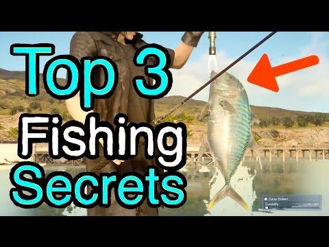 Final Fantasy XV: Top 3 Fishing Tips