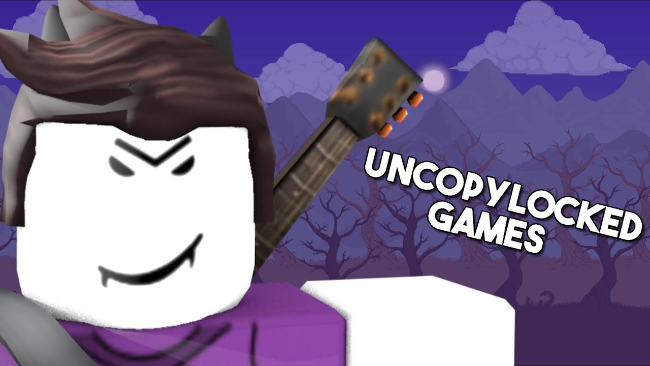 Roblox Uncopylocked Games | Roblox Hack Exploit