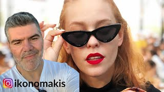 Κομμωτής αντιδρά σε Hair Care Routine Mara Samartzi  ikonomakis
