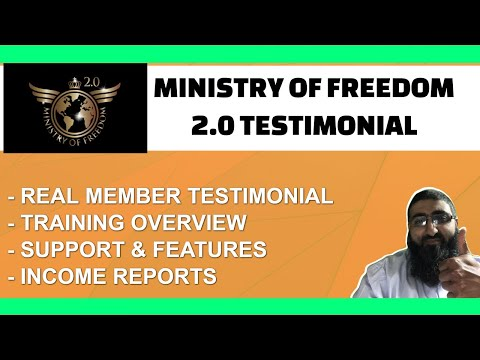 Ministry of Freedom Testimonial 2021 Member Review thumbnail