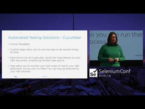 Using Selenium in the Verification and Validation Process for Medical Device Software | Lydia Tripp