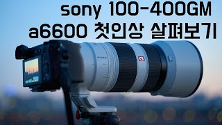 [gear] 소니 100-400GM, a6600 첫인상…