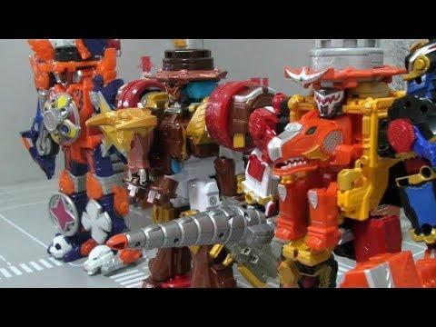 power rangers ninja steel megazord toys dinosaur ninja