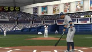 MLB 2K9 PC Gameplay DET@MIN (Tigers vs Twins) 1st Inning Top