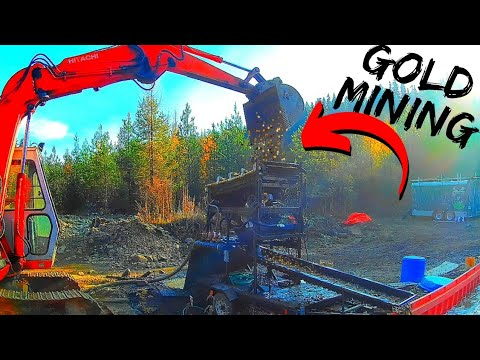 Gold Mining In The Mountains Of British Columbia, Canada. With Angus MacKirk!