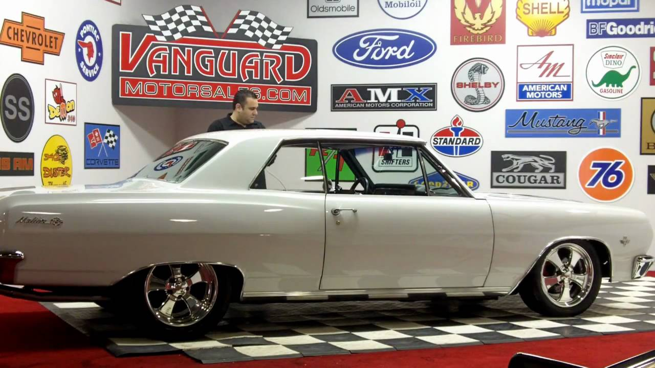 1965 Chevy Chevelle Malibu 383 Stroker Classic Muscle Car for Sale in MI  Vanguard Motor Sales
