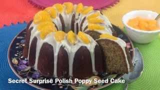 Secret Surprise Polish Poppy Seed Cake