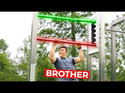 Challenging My Brother for $500 to Beat This IMPOSSIBLE Obstacle (Day In The Life)
